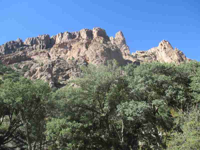 Cave Creek Canyon Portal Arizona Rolling Okie