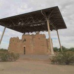 Me at Casa Grande Ruins National Monument
