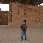 Me at Casa Grande Ruins National Monumentt