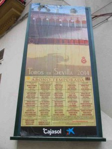 Bullfight Schedule 2014 Seville Spain