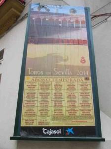 Bullfight Schedule 2014 Seville Spain