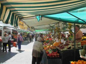 Daily Food Market in Algeciras