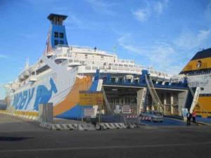 Boat to Genoa Italy