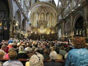 Mass Montserrat Spain