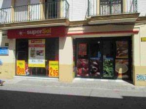 Supermarket Closed for Semana Santa Seville