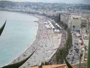 Beach Nice France
