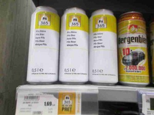 Fifty Cent Generic Beer Bucharest Romania