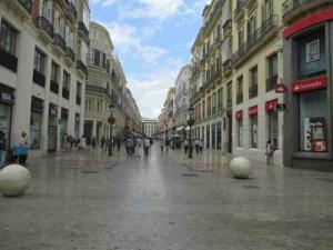 Main Pedestrian Drag Malaga