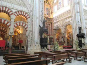 Mezquita Altar Cordoba Spain