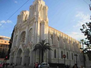 Nice France Basilica