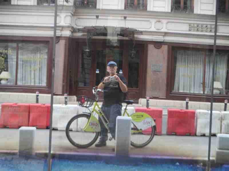 Rental Ride Selfie Bucharest