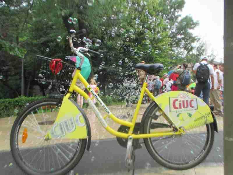 Rental Ride at Bubble Machine Bucharest