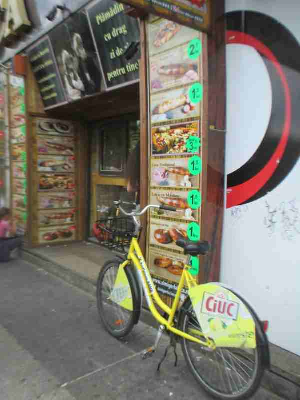 Rental Ride at Hot Dog Stand Bucharest