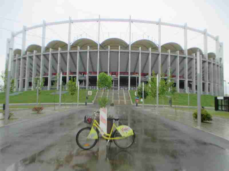 Rental Ride at National Arena Bucharest
