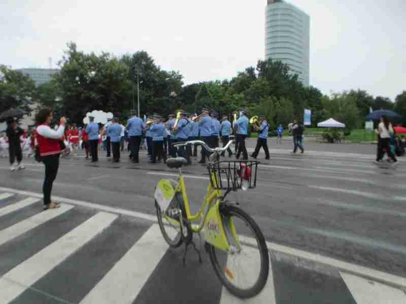 Rental Ride at Parade Bucharest