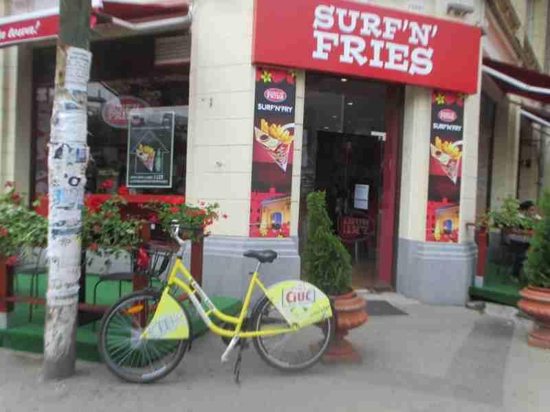 Rental Ride at Surf N Fries Bucharest