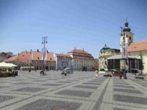 Piata Mare Sibiu Romania
