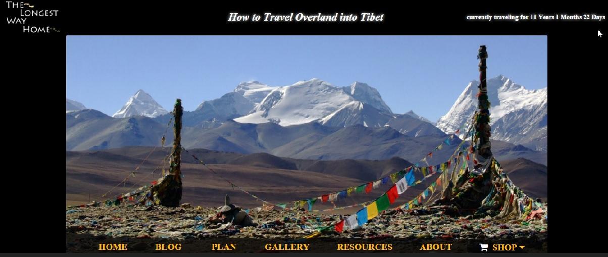Travel To Tibet Rolling Okie