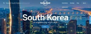 South Korea Lonely Planet Splash Page