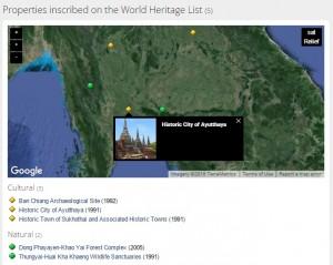 Thailand World Heritag List