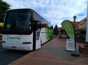 Bus to Rotorua